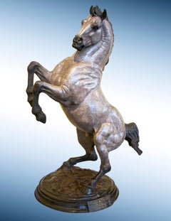 "Bronze Horse Sculpture, ""Homage to Da Vinci"""
