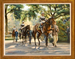 """Golden Horserace moment,  """"Slew O'Gold"""""""