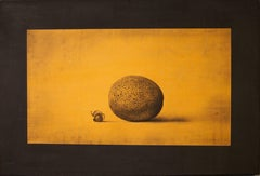 Orlin Mantchev Tonal Fruit Still Life
