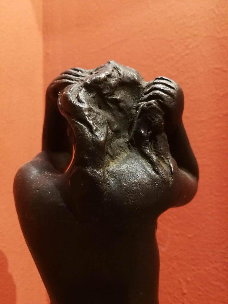 Quinto Martini, Nude, first half 20th century, bronze For Sale 3