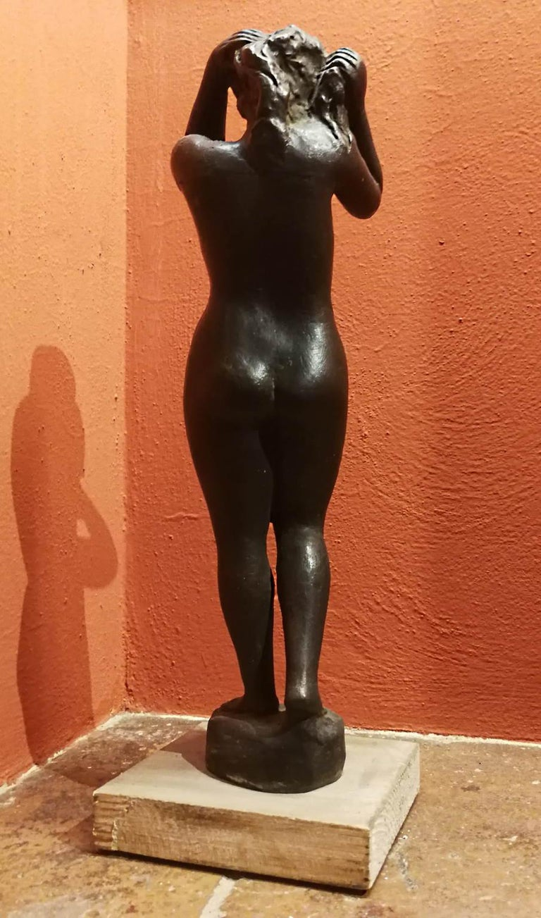 Quinto Martini, Nude, first half 20th century, bronze For Sale 1
