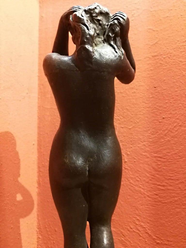 Quinto Martini, Nude, first half 20th century, bronze For Sale 2