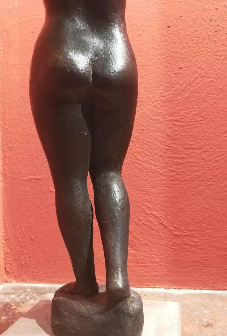 Quinto Martini, Nude, first half 20th century, bronze For Sale 4