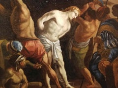 Francesco Trevisani (attr.), Scourging of Christ, early XVIII, oil on canvas