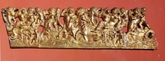 Severo da Ravenna, frieze with mythological creatures, first 16th, gilded bronze