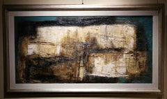 Maro Nuti, Silent See, 1964, oil on canvas, signed, titled and dated