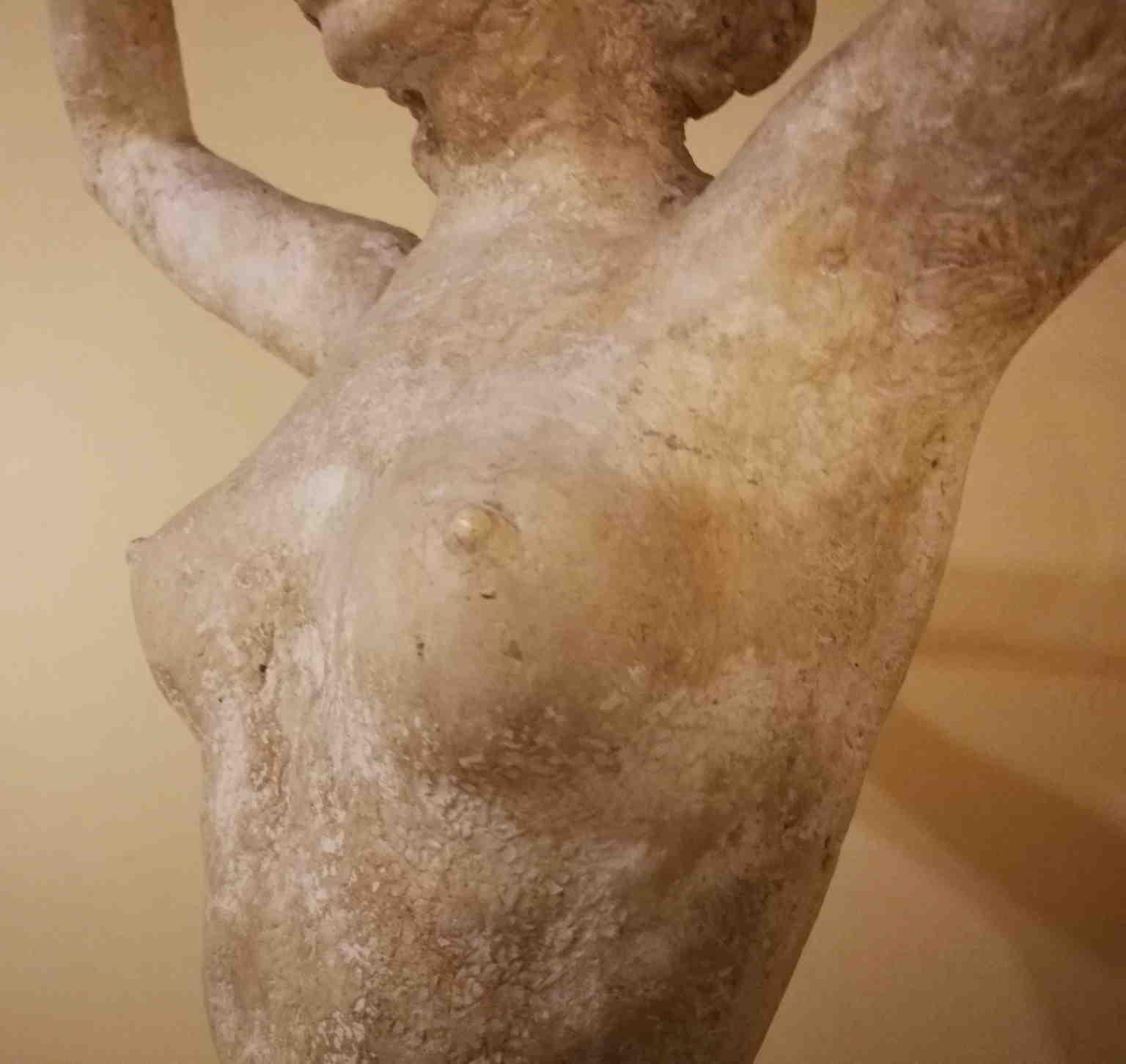 Bruno Innocenti She-devil Nude Statue 20 century plaster