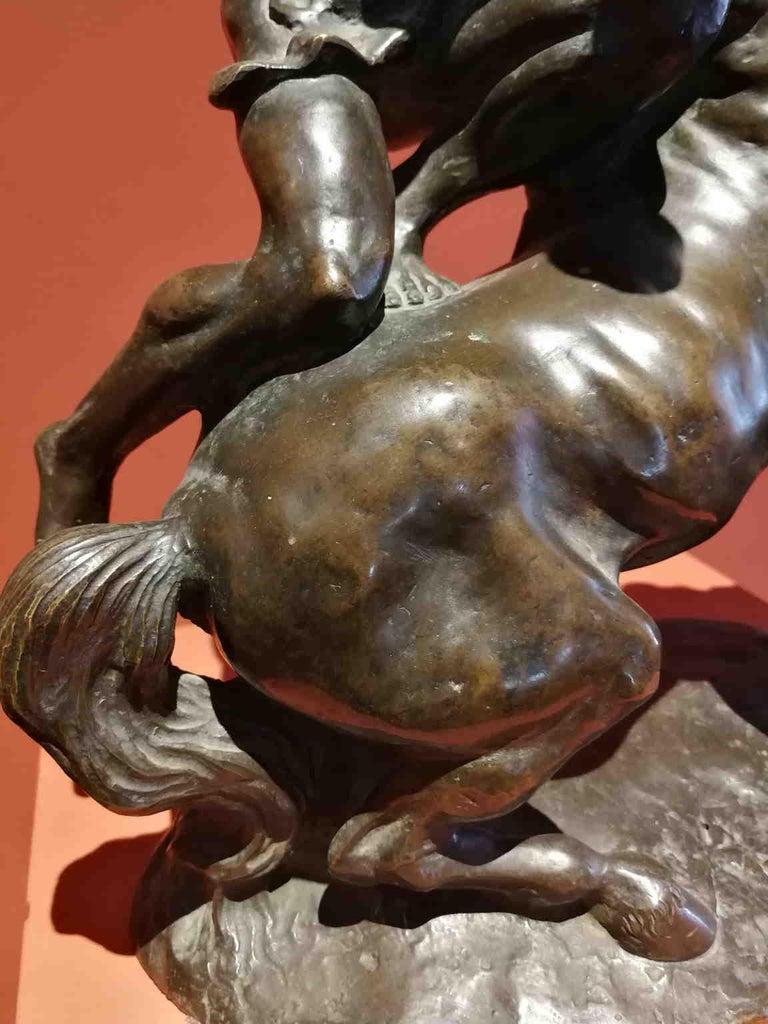 Augusto Rivalta, Hercules and the centaur Nessus, half 19 century, bronze For Sale 2