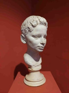 Bruno Innocenti, Potrait of a boy, 1959, plaster cast