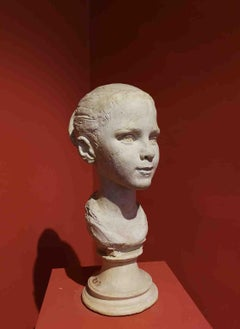 Bruno Innocenti, Potrait of Albertina, 1959, plaster cast
