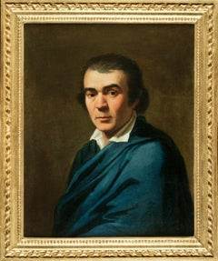 G.B. Dell'Era, Portrait of D.A. Camerini, 1784, oil on canvas, signed and dated