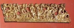 Severo da Ravenna, frieze with mythological creatures, first 16th, gilded bronze