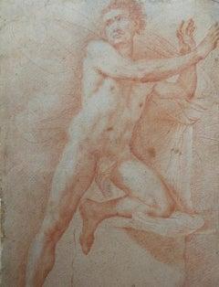 Francesco Furini Sanguine Drawing before 1642