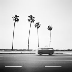 VW Bus T2, California, USA - Black and White Fine Art Photography