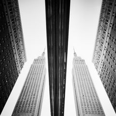 Empire State Building, New York City, USA - Black and White Fine Art Photography