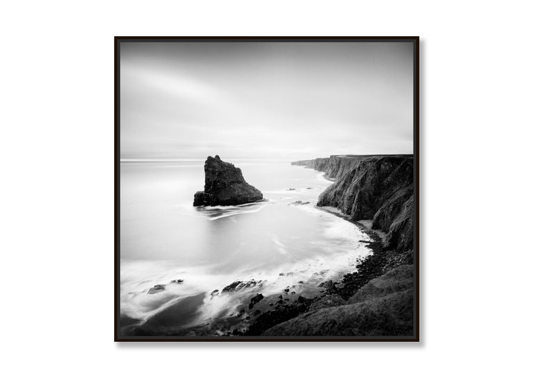 Surreal Moment 1, Scotland - Black and White Long Exposure Fine Art Photography For Sale 2