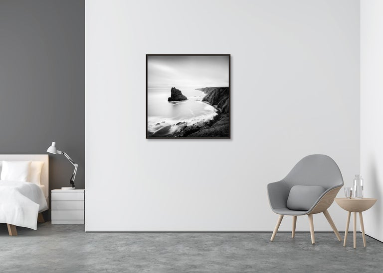 Surreal Moment 1, Scotland - Black and White Long Exposure Fine Art Photography For Sale 3