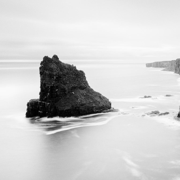 Surreal Moment 1, Scotland - Black and White Long Exposure Fine Art Photography For Sale 1