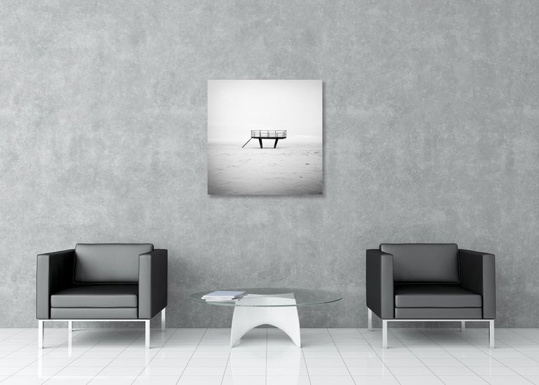 Dance Floor, Sylt, Germany - Black and White Fine Art Photography For Sale 1