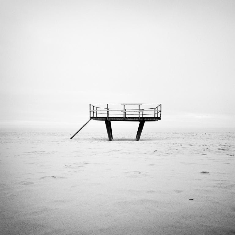 SILVERFINEART  Landscape Photograph - Dance Floor, Sylt, Germany - Black and White Fine Art Photography