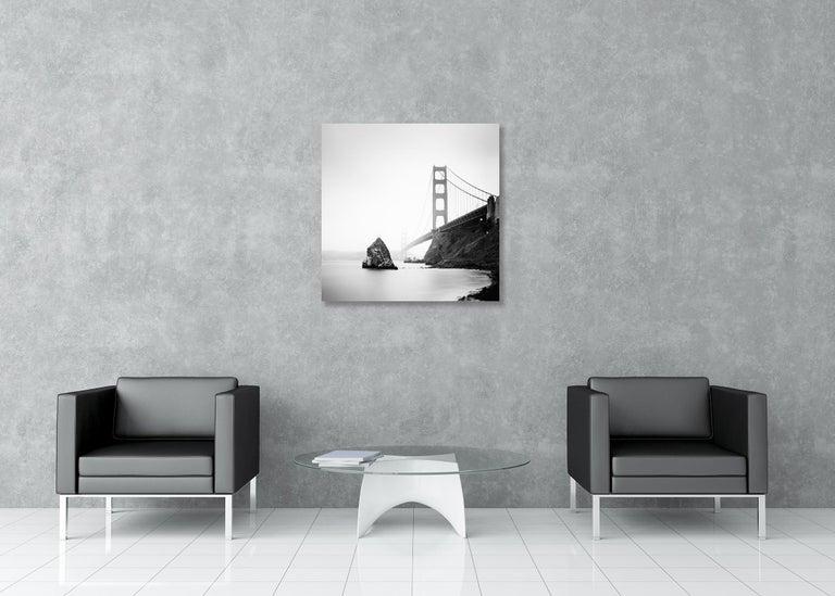 Golden Gate Study #14, California, USA - Black & White Fine Art Photography For Sale 1