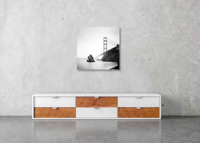 Golden Gate Study #14, California, USA - Black & White Fine Art Photography For Sale 2