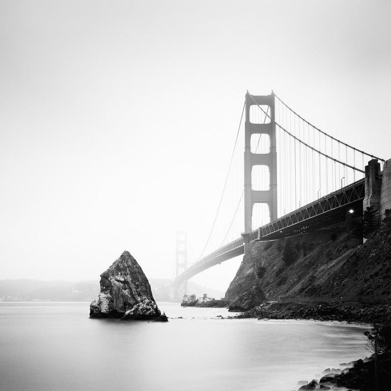 SILVERFINEART - Gerald Berghammer, Ina Forstinger Black and White Photograph - Golden Gate Study #14, California, USA - Black & White Fine Art Photography