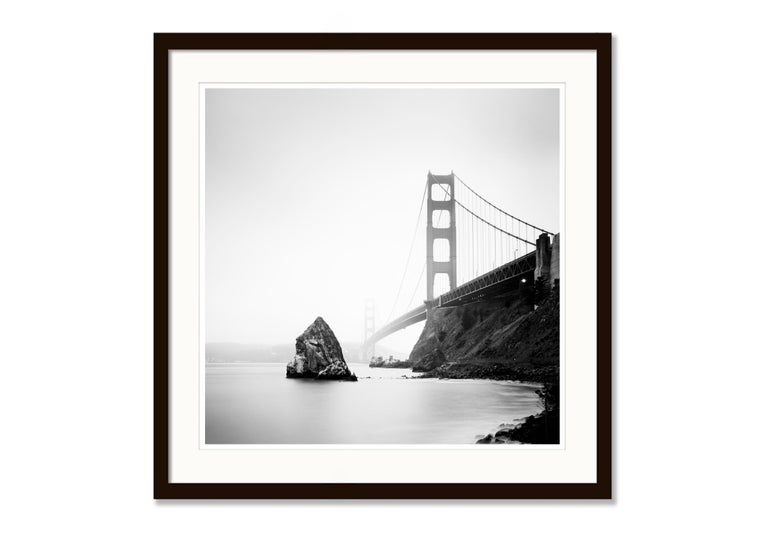 Golden Gate Study 14, California, USA - Black and White Fine Art Photography For Sale 2