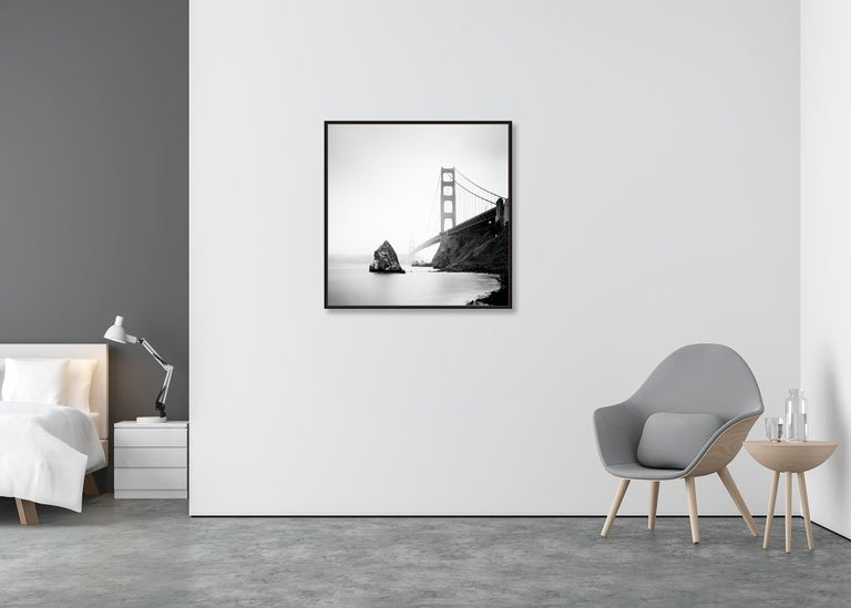 Golden Gate Study 14, California, USA - Black and White Fine Art Photography For Sale 1