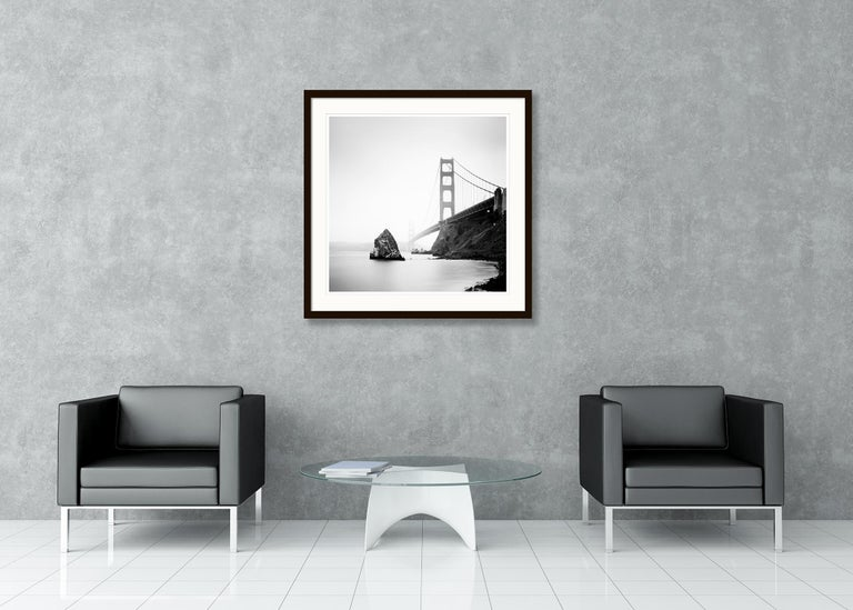 Golden Gate Study 14, California, USA - Black and White Fine Art Photography For Sale 3