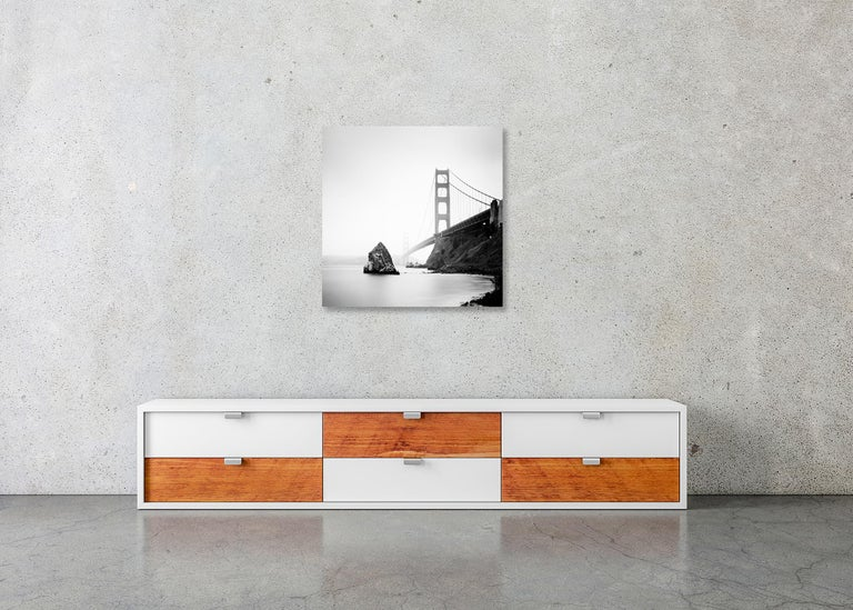 Golden Gate Study 14, California, USA - Black and White Fine Art Photography For Sale 4