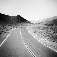 Way to Nowhere Study 1, Arizona, USA - Black and White Fine Art Photography