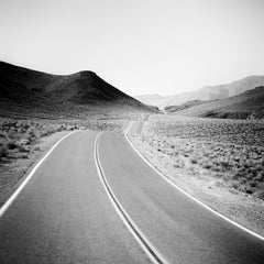 Way to Nowhere Study 1, Arizona, USA - Black and White Fine Art Film Photography