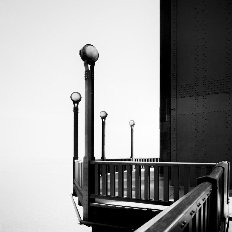 SILVERFINEART - Gerald Berghammer, Ina Forstinger Black and White Photograph - Golden Gate Study #9, San Francisco, USA - Black & White Fine Art Photography