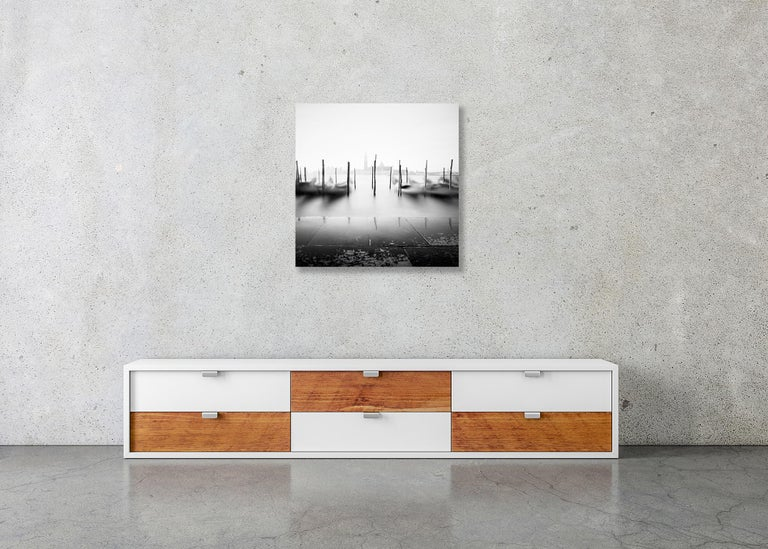 Free Space, Venice, Italy - Black and White Fine Art Photography For Sale 2