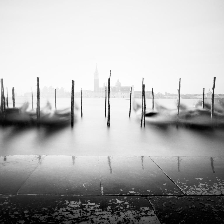 SILVERFINEART - Gerald Berghammer, Ina Forstinger Black and White Photograph - Free Space, Venice, Italy - Black and White Fine Art Photography