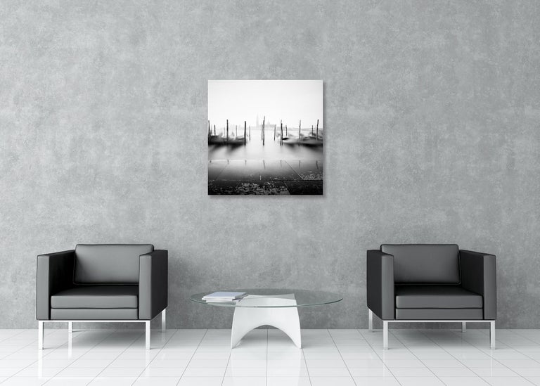 Free Space, Venice, Italy - Black and White Fine Art Photography For Sale 1