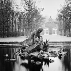 Duck Race, Schönbrunn Palace, Vienna - Black & White Fine Art Photography