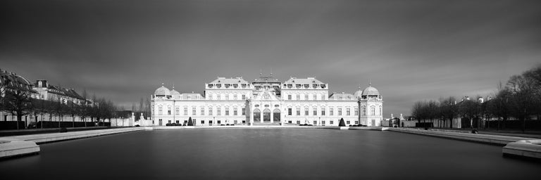 SILVERFINEART - Gerald Berghammer, Ina Forstinger Black and White Photograph - Upper Belvedere #2, Vienna, Austria - Black & White Fine Art Photography