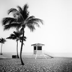 Fort Lauderdale Beach 1, Florida, USA - Black and White Fine Art Photography