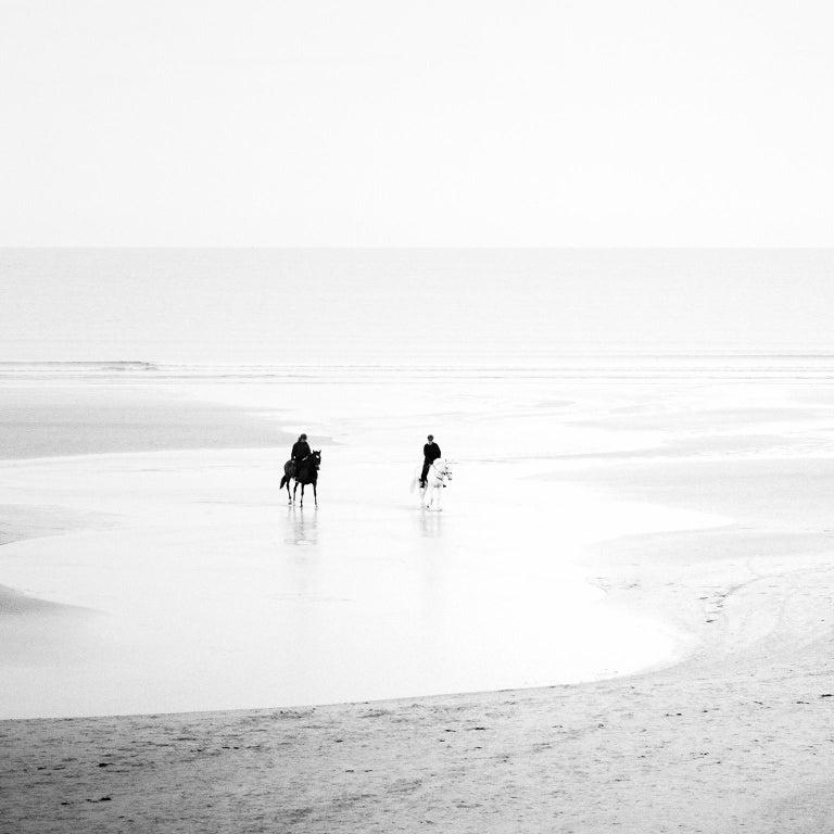 Sunday Morning, Ireland - Black and White Fine Art Photography - Gray Black and White Photograph by SILVERFINEART - Gerald Berghammer, Ina Forstinger
