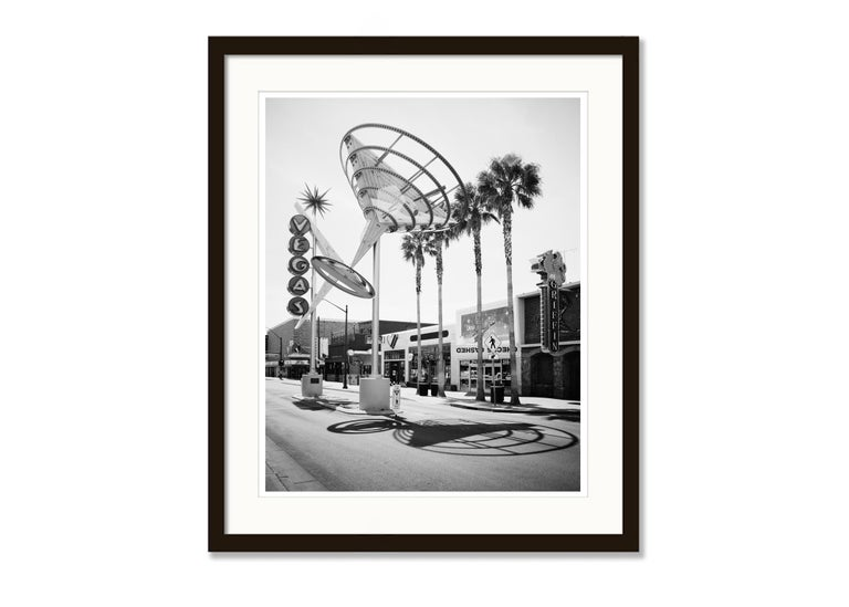 Fremont East District, Las Vegas, USA - Black and White Fine Art Photography For Sale 2