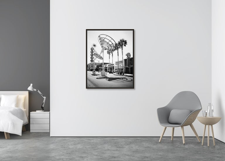 Fremont East District, Las Vegas, USA - Black and White Fine Art Photography For Sale 1