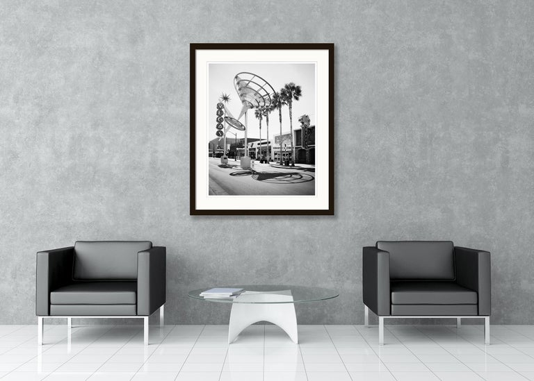 Fremont East District, Las Vegas, USA - Black and White Fine Art Photography For Sale 3