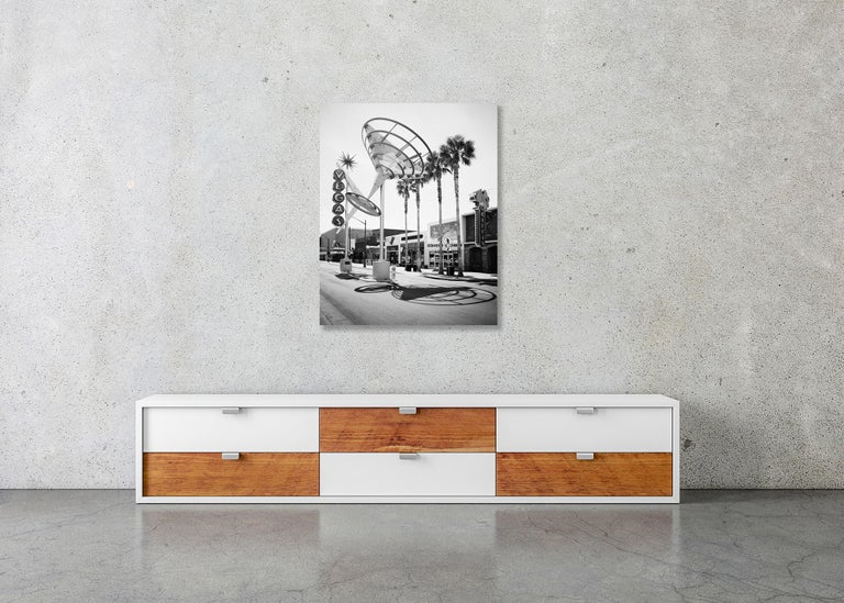 Fremont East District, Las Vegas, USA - Black and White Fine Art Photography For Sale 4