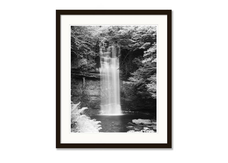 Waterfall Study 4, Ireland - Black and White Fine Art Photography For Sale 3