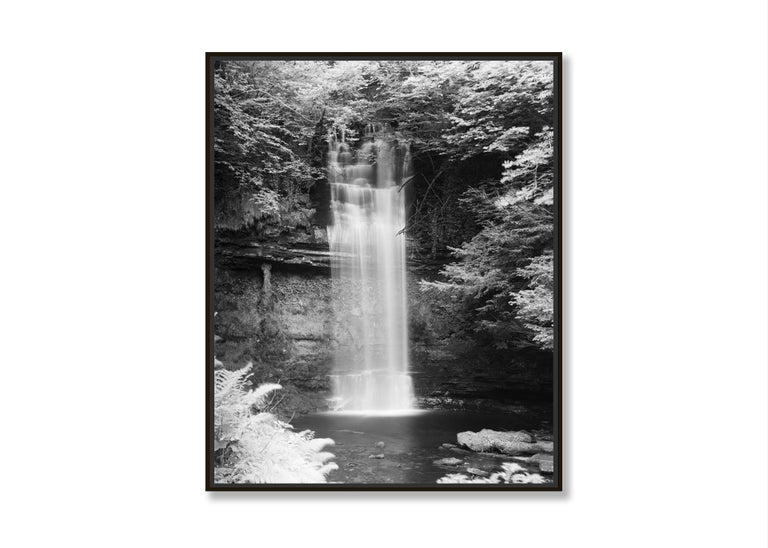 Waterfall Study 4, Ireland - Black and White Fine Art Photography For Sale 1