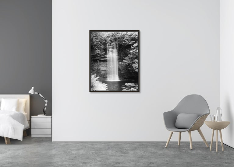 Waterfall Study 4, Ireland - Black and White Fine Art Photography For Sale 2