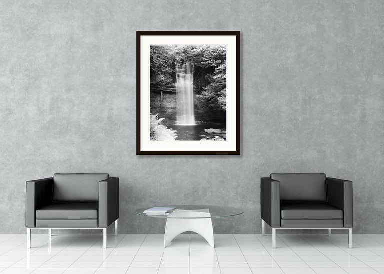 Waterfall Study 4, Ireland - Black and White Fine Art Photography For Sale 4