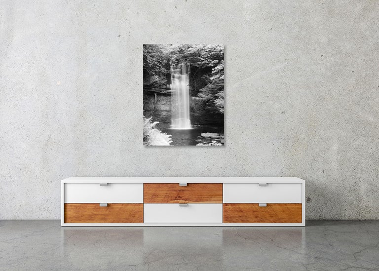 Waterfall Study 4, Ireland - Black and White Fine Art Photography For Sale 5